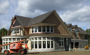 Eagle Cornice Residential Roofing Rhode Island